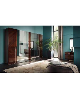 ALF Bellagio 6-Door Swinging Wardrobe