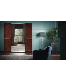 ALF Bellagio 4-Door Swinging Wardrobe