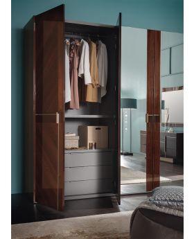 ALF Bellagio 3-Door Swinging Wardrobe