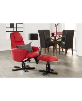 Serene Bergen Leather Recliner Chair