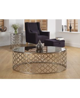 Serene Bianca Satin Coffee Table