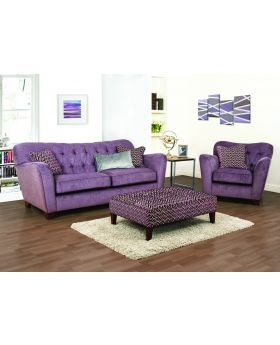 Fabric sofas sofas upholstery michael o 39 connor for Sofa ideal cordoba