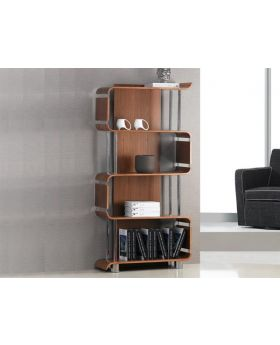 Jual BS201 Walnut Bookshelf