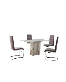 Alfrank Caballo Dining Table & 4 Chairs Package Offer