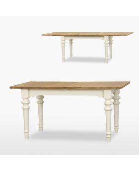 TCH Coelo Dining Extending Table Turned Legs