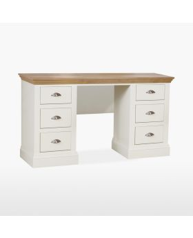 TCH Coelo Bedroom Double Pedestal Dressing Table