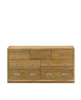 Unique Costa Bedroom Chest 4 + 3 Drawer