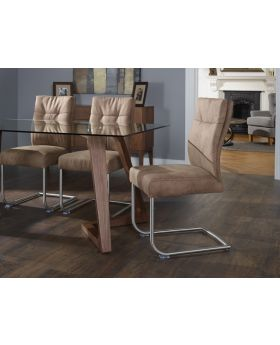 Serene Cordoba Faux Leather Dining Chair