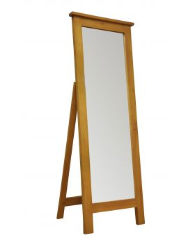 Vessel Soft Pine Cheval Mirror