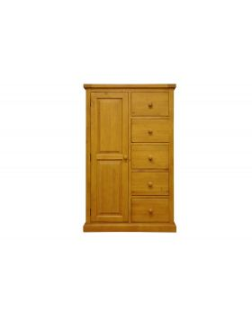 Vessel Soft Pine Combi Wardrobe