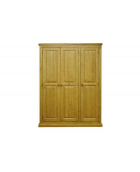 Vessel Soft Pine 3 Door Wardrobe