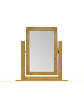 Vessel Soft Pine Vanity Mirror
