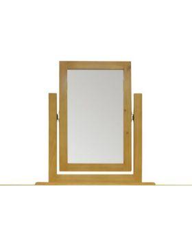 Vessel Soft Pine Vanity Mirror