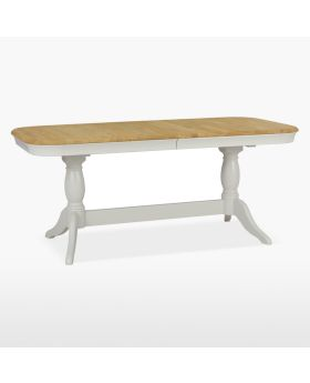 Stag Cromwell Dining Double Pedestal Table