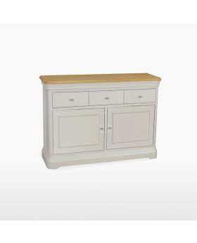 Stag Cromwell Dining Small 2 Door 3 Drawer Sideboard