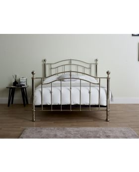Crystal Metal Bed Frame