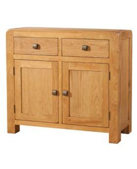 Devonshire Avon Oak Sideboard 2 Drawer 2 Door
