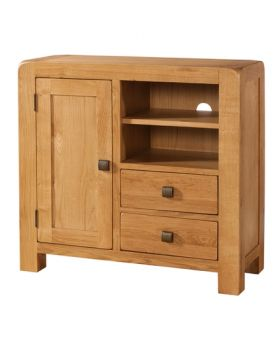 Devonshire Avon Oak Sideboard Media Unit