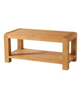 Devonshire Avon Oak Coffee Table With Shelf