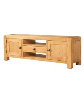 Devonshire Avon Oak Wide TV Unit