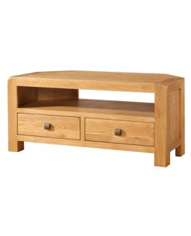 Devonshire Avon Oak Corner TV Unit