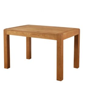 Devonshire Avon Oak Fixed Top Dining Table 120 X 80