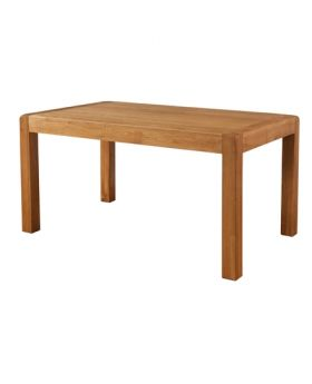 Devonshire Avon Oak Fixed Top Dining Table 150 X 90