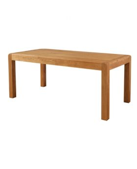 Devonshire Avon Oak Fixed Top Dining Table 180 X 90