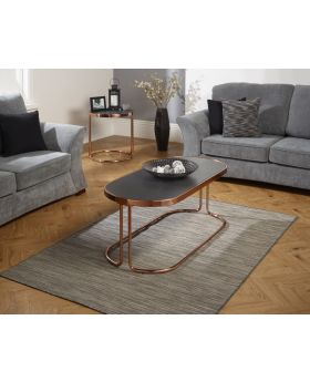 Serene Dawn Rose Gold Coffee Table