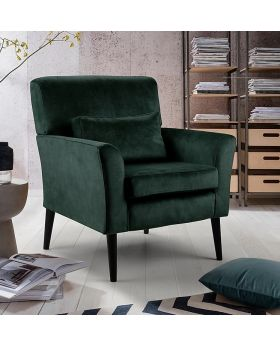 GFA Denton Accent Chair in Dove Emerald