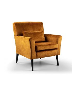 GFA Denton Accent Chair in Dove Turmeric