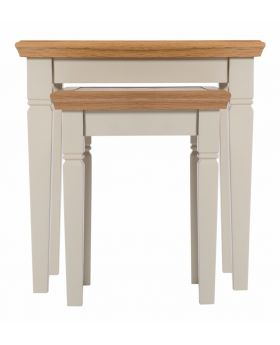 Vessel Country Style Dining Nesting Tables