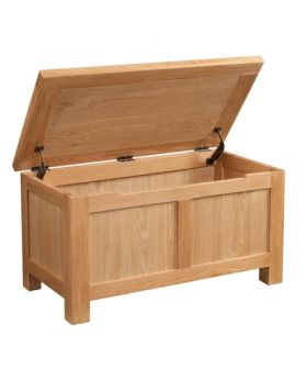 Devonshire Wessex Oak Blanket Box