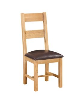 Devonshire Wessex Oak Ladder Back Chair