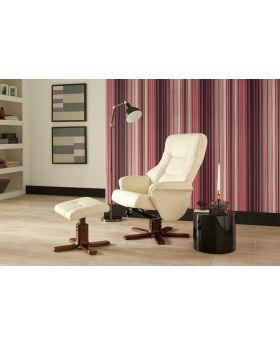 Serene Drammen Leather Recliner Chair