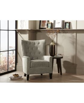 Serene Dunbar Deep Button Fabric Chair