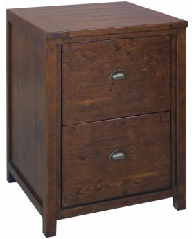 Classic Furniture Driftwood Reclaimed Pine Filing Cabinet