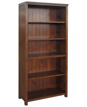 Classic Furniture Driftwood Reclaimed Pine Bookcase