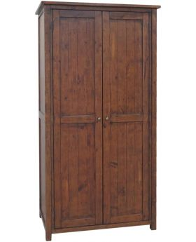Classic Furniture Driftwood Reclaimed Pine Wardrobe