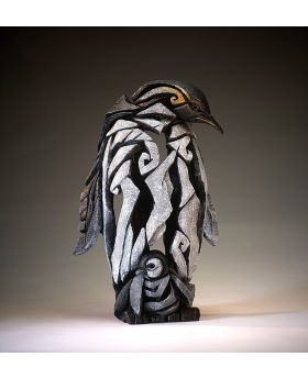 Edge Sculpture Penguin Figure