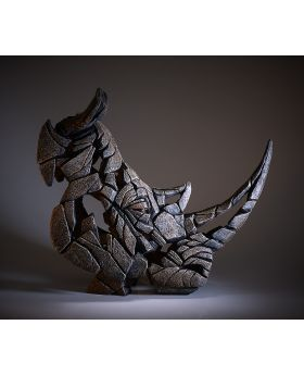 Edge Sculpture Rhinoceros Bust