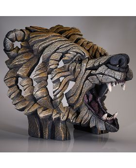 Edge Sculpture Bust Grizzly Bear