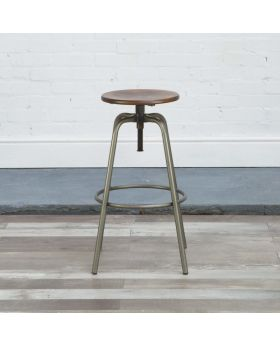 HND Eiffel Industrial Bar Stool