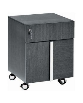ALF Montecarlo Home Office 2 Drawer Pedestal with Wheels