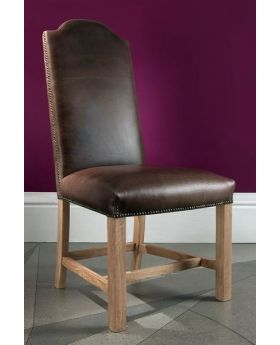 Carlton Chateau President Dining Chair - 3L Cerato Leather