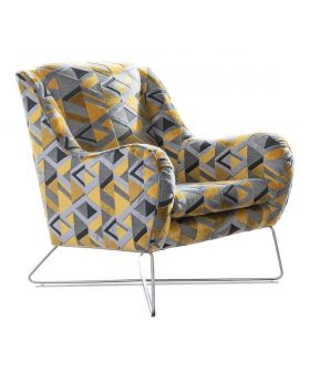 Fairmont Accent Chair Whistler in XE Fabric