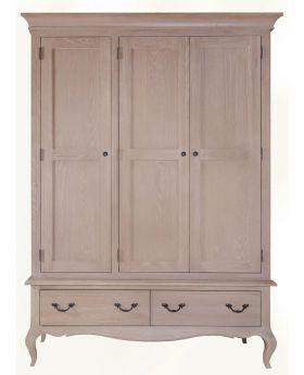 Kettle FR Bedroom 3 Door Wardrobe