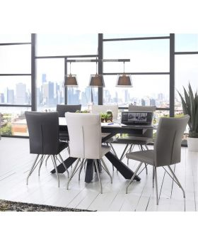 Habufa Rodez Dining Table and 4 Chairs Package Offer