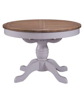 Classic Georgia Round Extending Dining Table