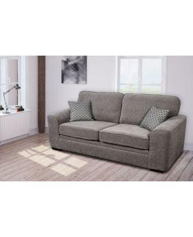GFA Islington Almond Fixed 3 Seater Sofa